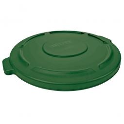 Deckel für runden Brute Container 167 Liter, grün