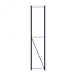 Regalrahmen für Weitspannregale, Stecksystem, fertig montiert, TxH 600 x 3000 mm, Rahmenbreite 40 mm