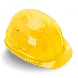 Schutzhelm nach EN 397 DIN 4840, Gelb, Polyethylen, innen 4-Punkt Textilband