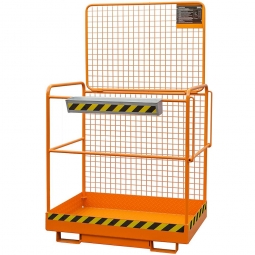 Sicherheitskorb, LxBxH 1230x1040x2000 mm, Gewicht 77 kg, Traglast 300 kg