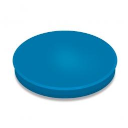 Haftmagnete, blau, Durchmesser 40 mm, Haftkraft 800 g, Paket=10 Magnete
