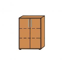 Büroschrank, 3OH, Buche, HxBxT 1145x800x345 mm