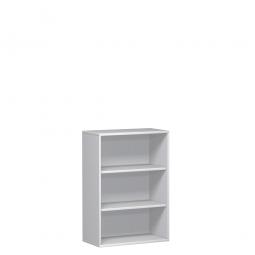 Büroregal PRO, 3 Ordnerhöhen, weiß, BxTxH 1000x425x1152 mm