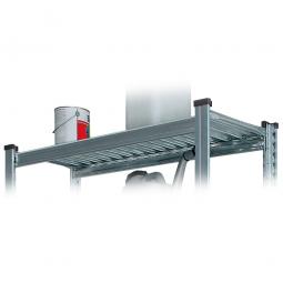 Fachbodenebene für Reifenregal, verzinkt, BxT 1200 x 400 mm