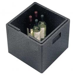 Thermobox mit Deckel, 41 Liter, LxBxH 410 x 410 x 400 mm