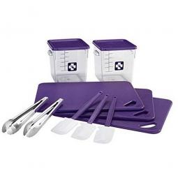 12 Teiliges Rubbermaid Küchen-Set, lila