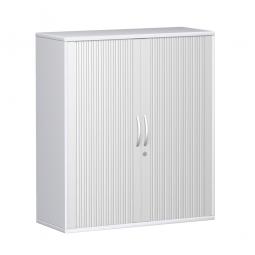 Querrollladenschrank PRO 3 Ordnerhöhen, weiß, BxHxT 1000x1152x425 mm