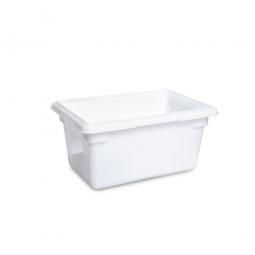Lebensmittelbehälter, LxBxH 457 x 305 x 229 mm, 19 Liter, naturweiß