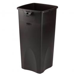 Wertstoffbehälter, rechteckig, 87 Liter, BxTxH 395 x 420 x 790 mm, Farbe schwarz