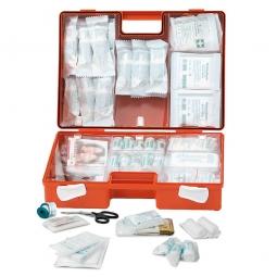 Erste-Hilfe-Koffer mit Inhalt nach DIN 13169, BxTxH 400x150x300 mm