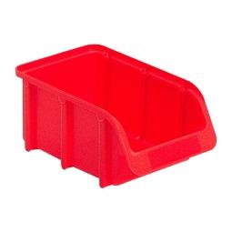 Sichtbox SOFTLINE SL 2, rot, Inhalt 1 Liter, LxBxH 165/137x100x75 mm, Gewicht 60 g