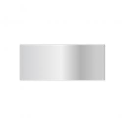 Schnellbau-Steck-Fachboden, glanzverzinkt, BxT 1200x500 mm, mit Verstärkungsunterzug