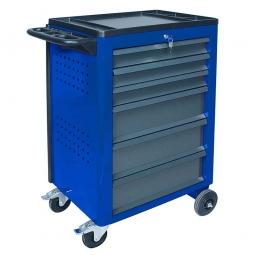 Werkstattwagen, Farbe enzianblau, LxBxH 950x610x450 mm,Tragkraft 240 kg