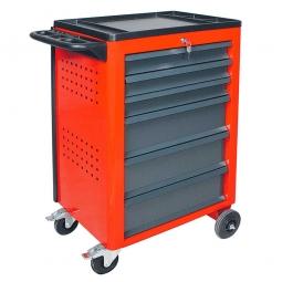 Werkstattwagen, Farbe verkehrsrot, HxBxT 950x610x450 mm, Tragkraft 240 kg