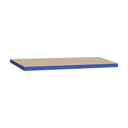 Zusatzebene für Schwerlastregal, blau, Tragkraft 265 kg, BxT 900x600 mm, Nutztiefe 590 mm