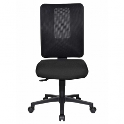 """Bürodrehstuhl """"Window"""", Netzrücken / schwarz, belastbar bis 110 kg"""