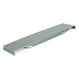 Stahlpaneele für 1000 mm Regaltiefe, verzinkt, BxT 100 x 1015 mm, Tragkraft 50 kg
