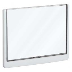 Türschild aus ABS-Kunststoff mit aufklappbarem Sichtfenster, BxH 210 x 148,5 mm, weiß