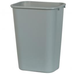 Papierkorb, 26 Liter, grau, Polyethylen, BxTxH 365x260x380 mm