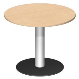 Rundtisch, Tischplatte Ahorn ØxH 900 x 720 mm