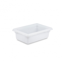 Lebensmittelbehälter, LxBxH 457 x 305 x 152 mm, 13 Liter, naturweiß