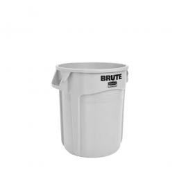 Runder Brute Container, 38 Liter, weiß
