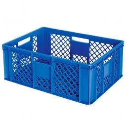 Bäckerkiste, LxBxH 600 x 400 x 240 mm, blau