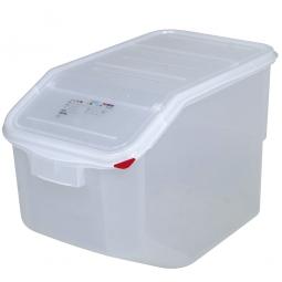 Zutatenbehälter, 50 Liter, BxTxH 340 x 565 x 400 mm, weiß