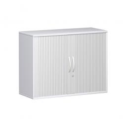Querrollladenschrank PRO 2 Ordnerhöhen, weiß, BxHxT 1000x768x425 mm