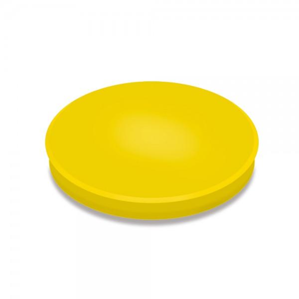 Haftmagnete, gelb, Durchmesser 30 mm