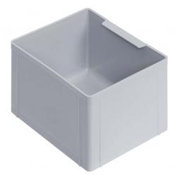 Einsatzkasten für Stapelbehälter 600x400 mm, LxBxH 174 x 137 x 110 mm, Farbe grau