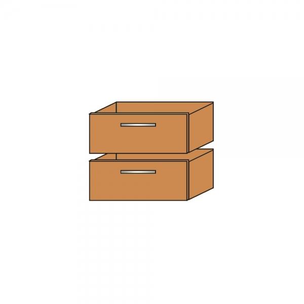 Schubkasten Set Bestehend Aus 2 Stuck Buche Bxtxh 360x340x330 Mm