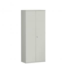 Garderobenschrank PRO, lichtgrau, BxTxH 800x425x1920 mm, 1 Fachboden, 1 Kleiderstange
