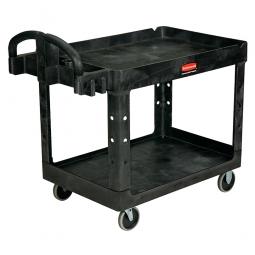 Mehrzweckwagen für schwere Lasten, schwarz, LxBxH 1150x660x850 mm, Polypropylen (PP)
