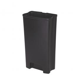 Innenbehälter für Tretabfalleimer Slim Jim, 50 Liter, BxTxH 254 x 697 x 424 mm, PE-HD