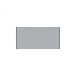 Fachboden für Steckregal, kunststoffbeschichtet, Tragkraft 330 kg, BxT 1000 x 500 mm, mit 4 Fachbodenträgern