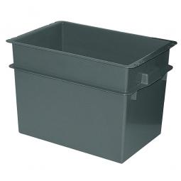 Konische Mehrzweckbehälter, LxBxH 790 x 600 x 550 mm, 200 Liter, schwarz