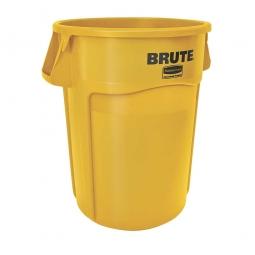 Runder Brute Container, 167 Liter, gelb
