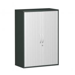 Querrollladenschrank PRO 3 Ordnerhöhen, graphit, BxHxT 800x1152x425 mm
