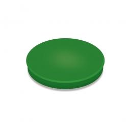 Haftmagnete, grün, Durchmesser 24 mm, Haftkraft 300 g, Paket=10 Magnete