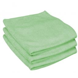Mikrofasertuch, grün, LxB 410x410 mm