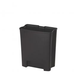 Innenbehälter für Tretabfalleimer Slim Jim, 30 Liter, BxTxH 259 x 467 x 408 mm, PE-HD