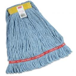 Web Foot Baumwoll-Nassmopp, blau