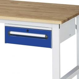 Unterbau-Container für Arbeitstisch, BxTxH 440x600x175 mm, mit 1 Schublade