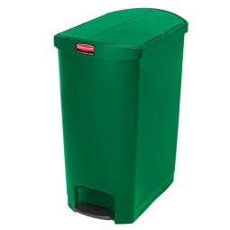 Tretabfalleimer SlimJim, 90 Liter, grün, LxBxH 638 x 404 x 814 mm