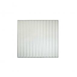 1x Trapezblech-Rückwand für Überdachungssystem, Breite 2250 mm