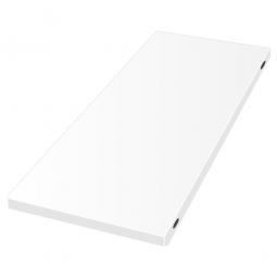Zusatzboden für Hyieneregal, Hygienic-Beschichtung, BxT 1000 x 400 mm