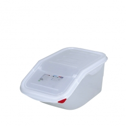 Zutatenbehälter, 7 Liter, BxTxH 200 x 395 x 200 mm, weiß