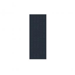 System-Schlitzplatte BxHxT 450x1200x18 mm, Aus 1,25 mm Stahlblech, kunststoffbeschichtet in anthrazitgrau