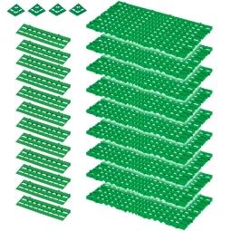 Bodenrost-Set, 25-teilig, grün, 3,4 m²
